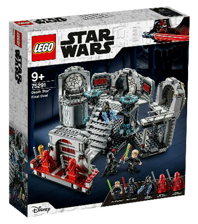 Конструктор Star Wars Последний бой Звезды Смерти LEGO 75291