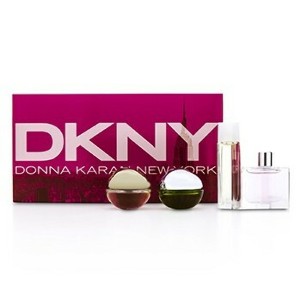House Of DKNY Набор Миниатюр: City, Be Delicious, Energizing, Golden Delicious