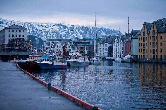 Поехать в Норвегию