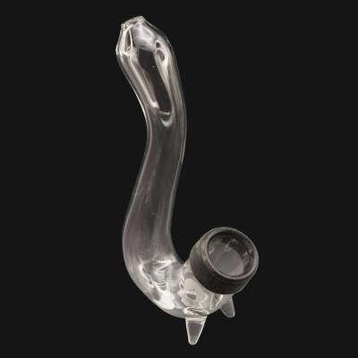 Incredibowl-Mycroft Mini Glass Sherlock Pipe Attachment For M420