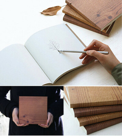 Блокнот From Drawing Book - Brown