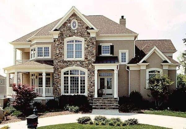 У меня большой красивый дом