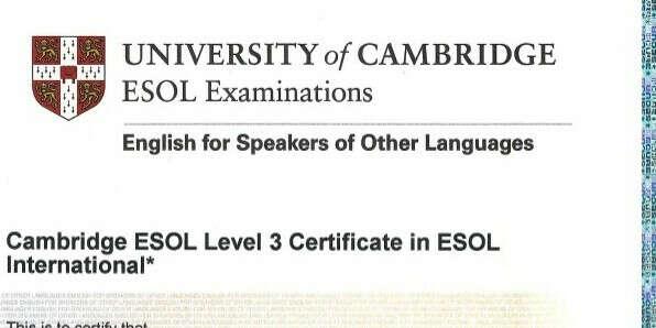 Сертификат CPE на высший балл