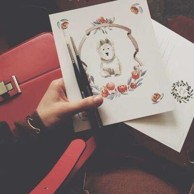 Рисовать открытки