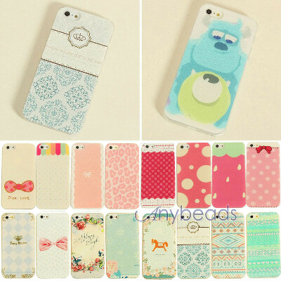 Phone Hard Back Skin Case Cover Painted Various Pattern fr Apple IPhone4 4S 5 5S