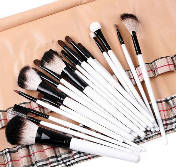 Кисти для макияжа натуральные -20 шт