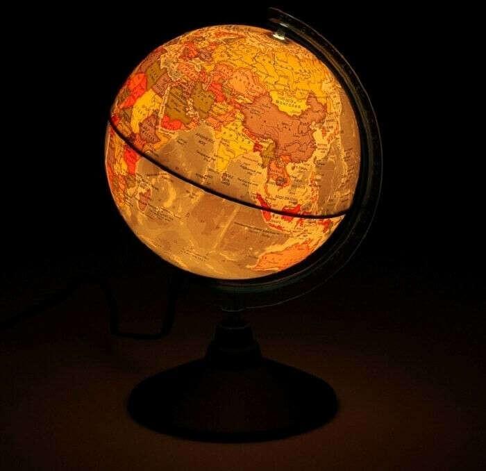 Глобус- ночник