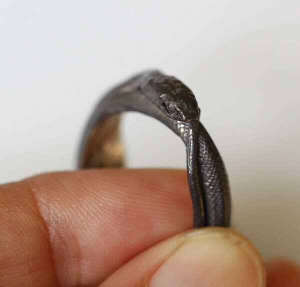 Silver Snake ring от iacua