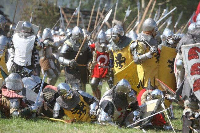 Принять участие в рыцарском сражение