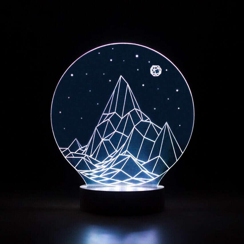Лампа Горы