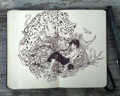 Зарисовывать сны в блокнот