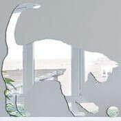 Декоративное зеркало Кот и находка