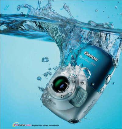 Фотоаппарат водонепроницаемый