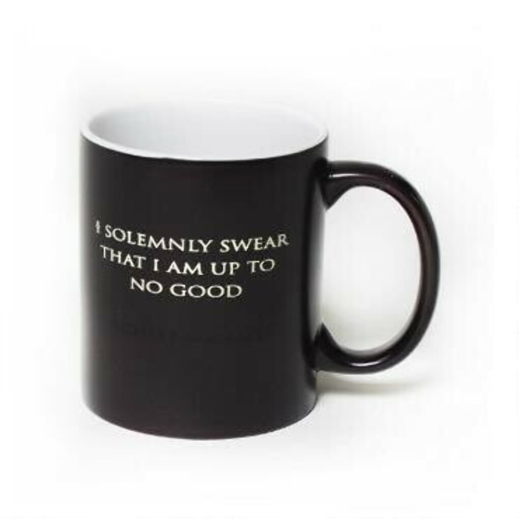 Harry Potter I Solemnly Swear...Mischief Managed Heat Transforming Mug |