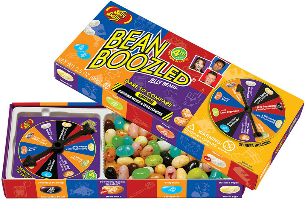 Драже жевательное Jelly Belly Bean Boozled Game + игра, 100 г