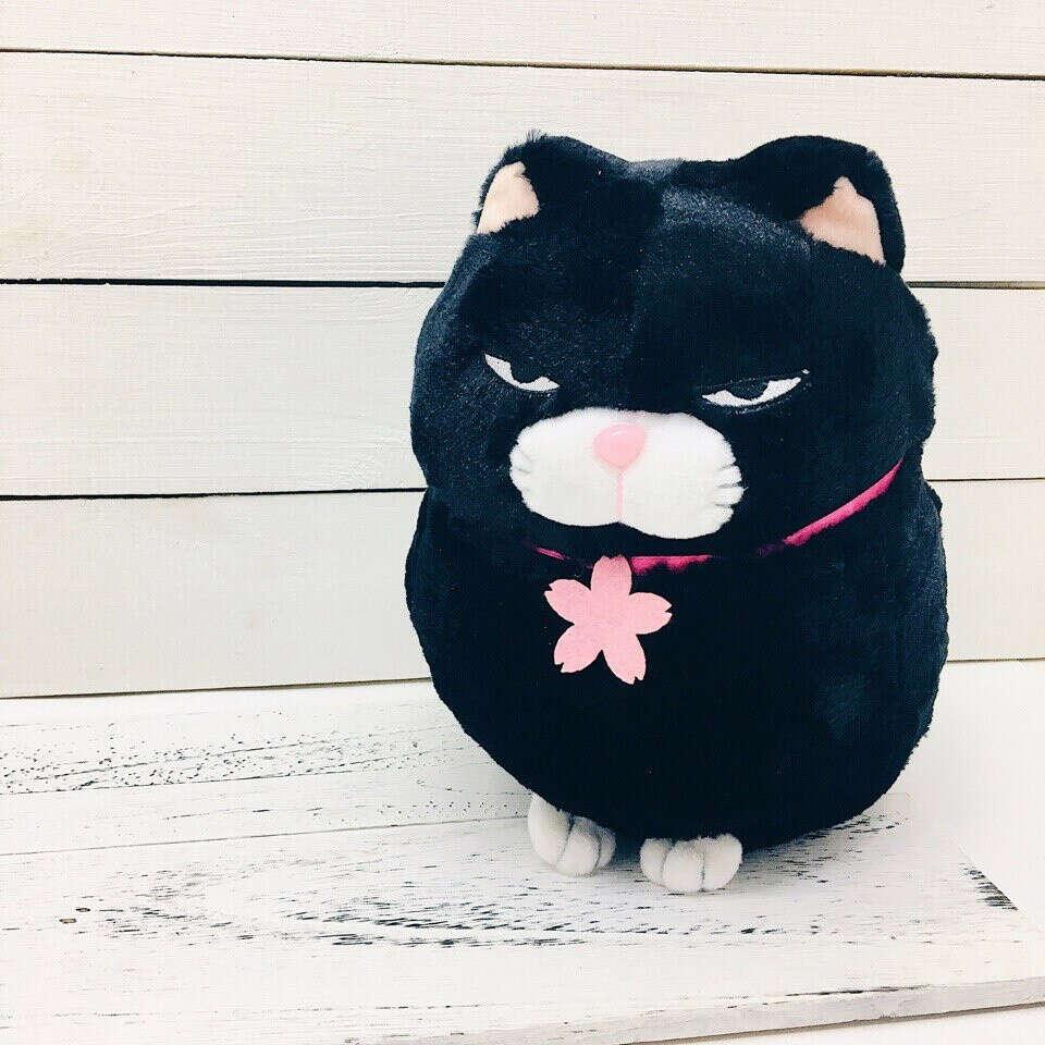 Мягкая игрушка недовольный кот