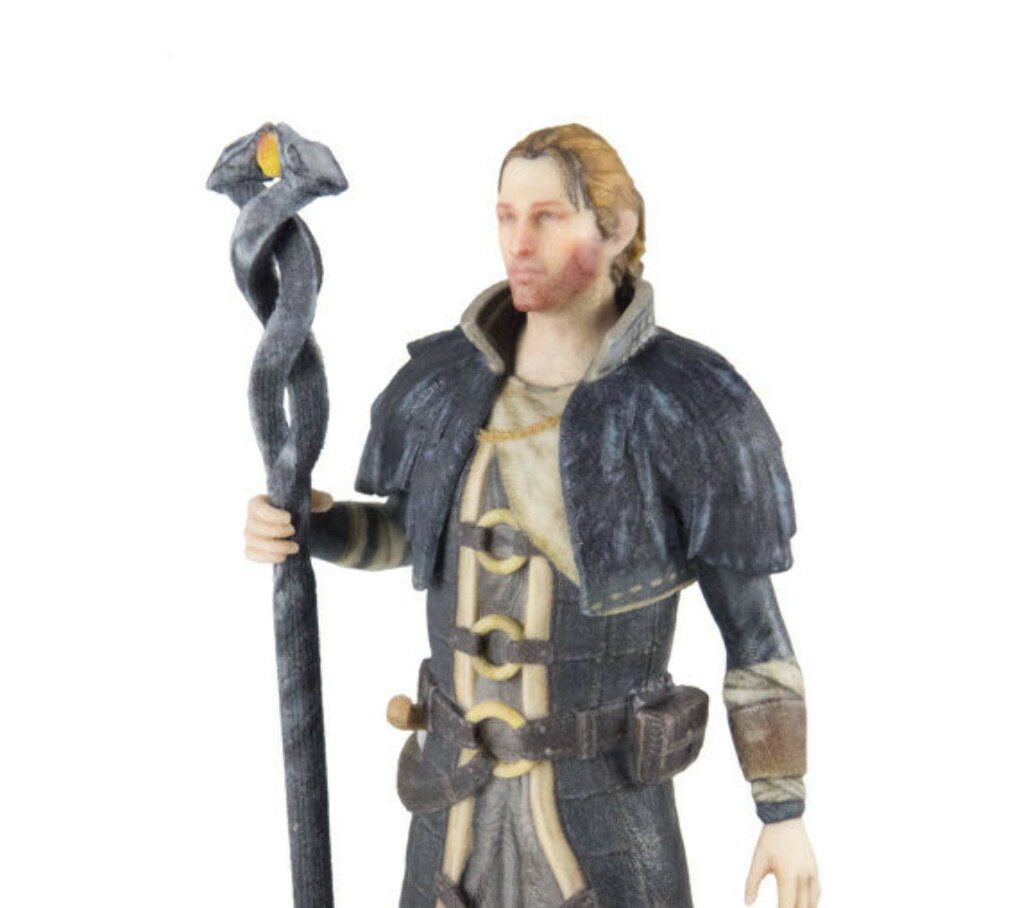Anders from Dragon Age figure 150mm (6 inch color miniature 1/12 scale)