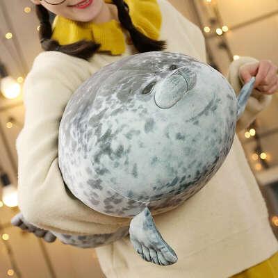 Подушка-тюлень большая