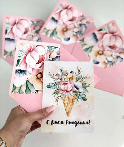 Открытки, конверты для денег от capsularcard