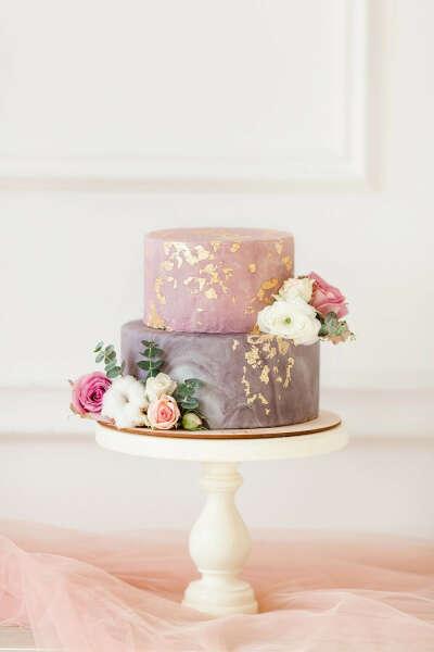 Вкусный и красивый торт на День Рождения