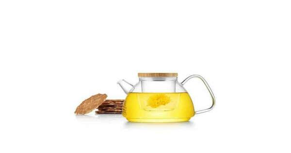 Стеклянный заварочный чайник со стеклянным фильтром (колбой) SAMADOYO S-092 600 мл