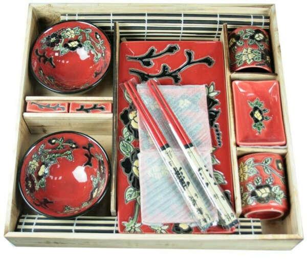 Набор посуды для японской кухни