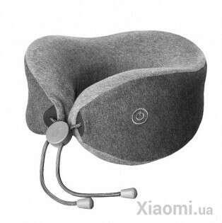 Подушка подголовник с массажером LF Massage sleep neck pillow Gray цена, отзывы, описание, фото - www.xiaomi.ua