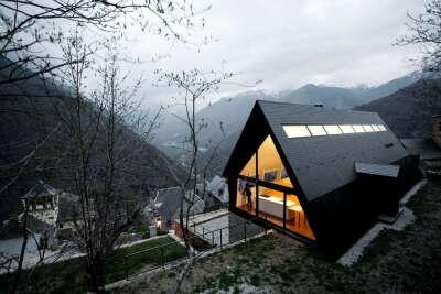 Жить среди гор