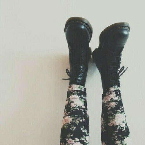 Кожаные ботинки от Dr. Martens