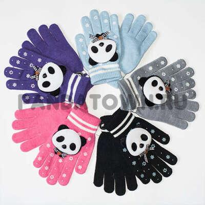Перчатки с пандами