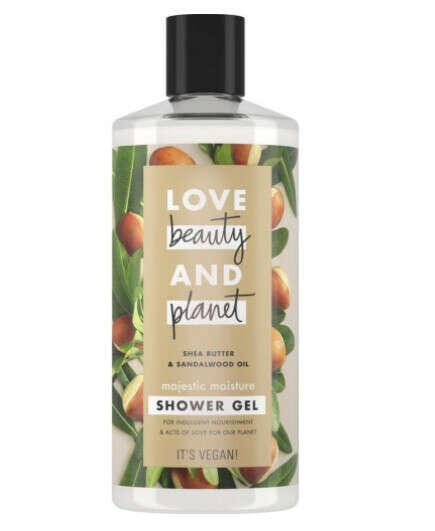 Гель для душа Love Beauty&Planet Масло ши и сандаловое дерево