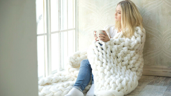 Плед Woolie 150х200 (серый)