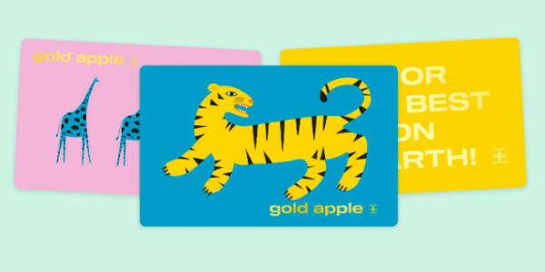 Сертификат в Gold Apple
