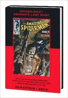 Spider-Man: Kraven's Last Hunt Premiere HC (Variant)                                Hardcover
