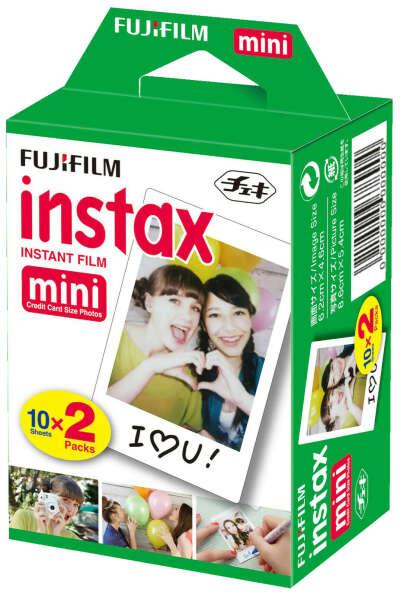 Fujifilm Instax Mini valokuvapaperi (2x 10 kpl) - Muut kameratarvikkeet