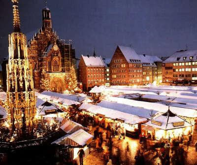 Путешествие в Прагу или Париж на Рождество