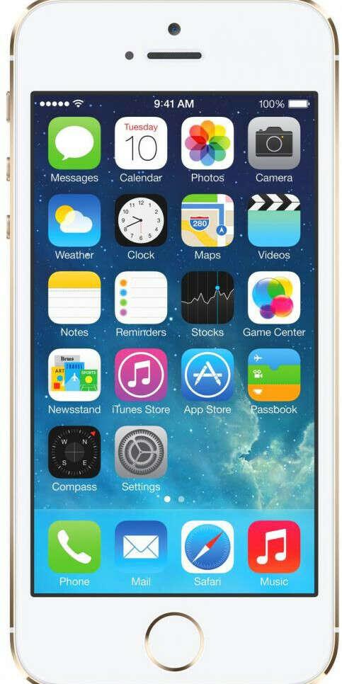Apple iPhone 5S 16Gb gold (золотистый)