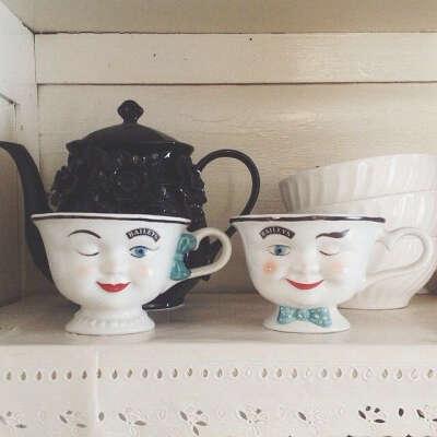 Винтажные чашки