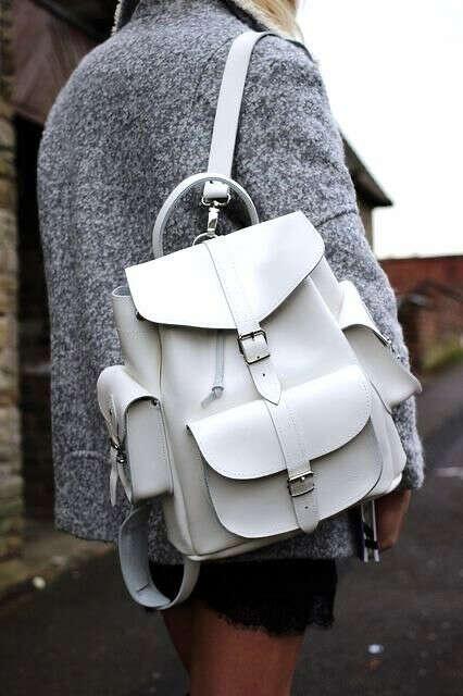 Рюкзак с накладными карманами