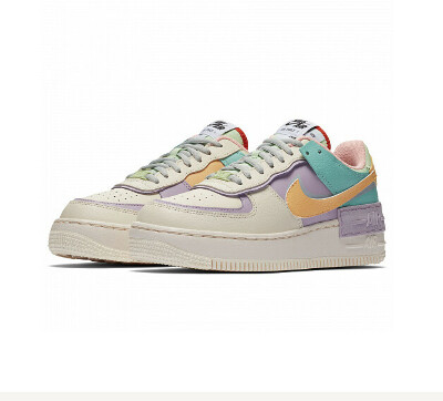 Nike Air Force 1 Shadow                                                                                                                                        Цвет: Pale Ivory/Celestial Gold-Tropical Twist