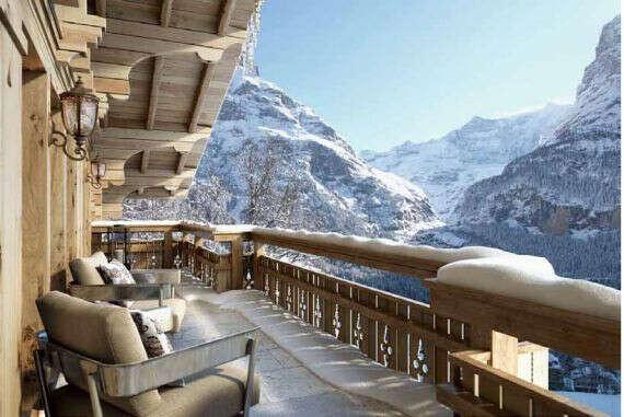 Снять с друзьями шале в Швейцарии