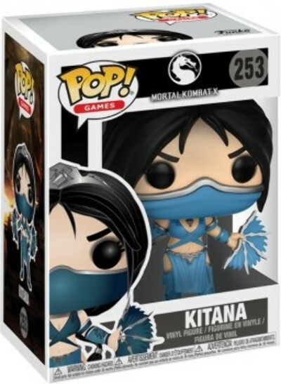 Фигурка Funko POP Games: Mortal Kombat X – Kitana (9,5 см)
