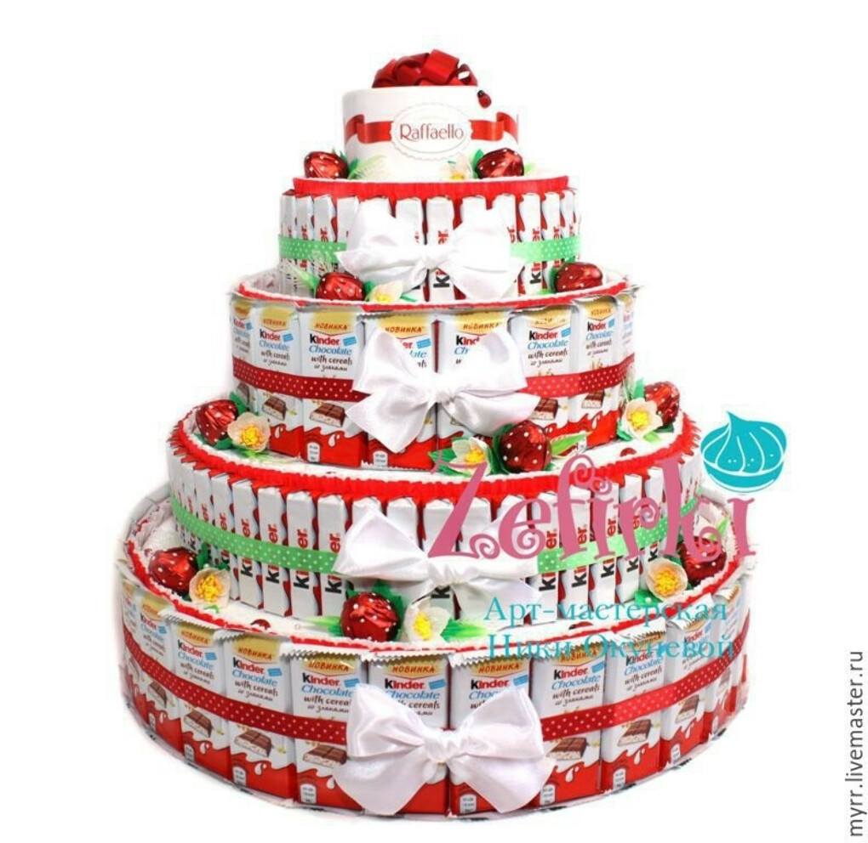 Большой KINDER-торт