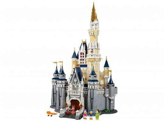 Коллекционные наборы LEGO: Сказочный замок Disney LEGO (ЛЕГО) - купить в Сети сертифицированных магазинов LEGO