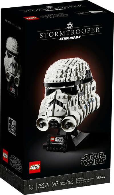 Lego Star Wars 75276 шлем штурмовика