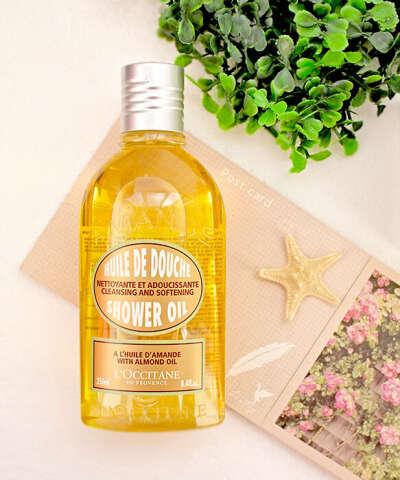 Миндальное масло для душа L'Occitane