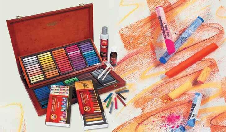 Рисовать пастелью