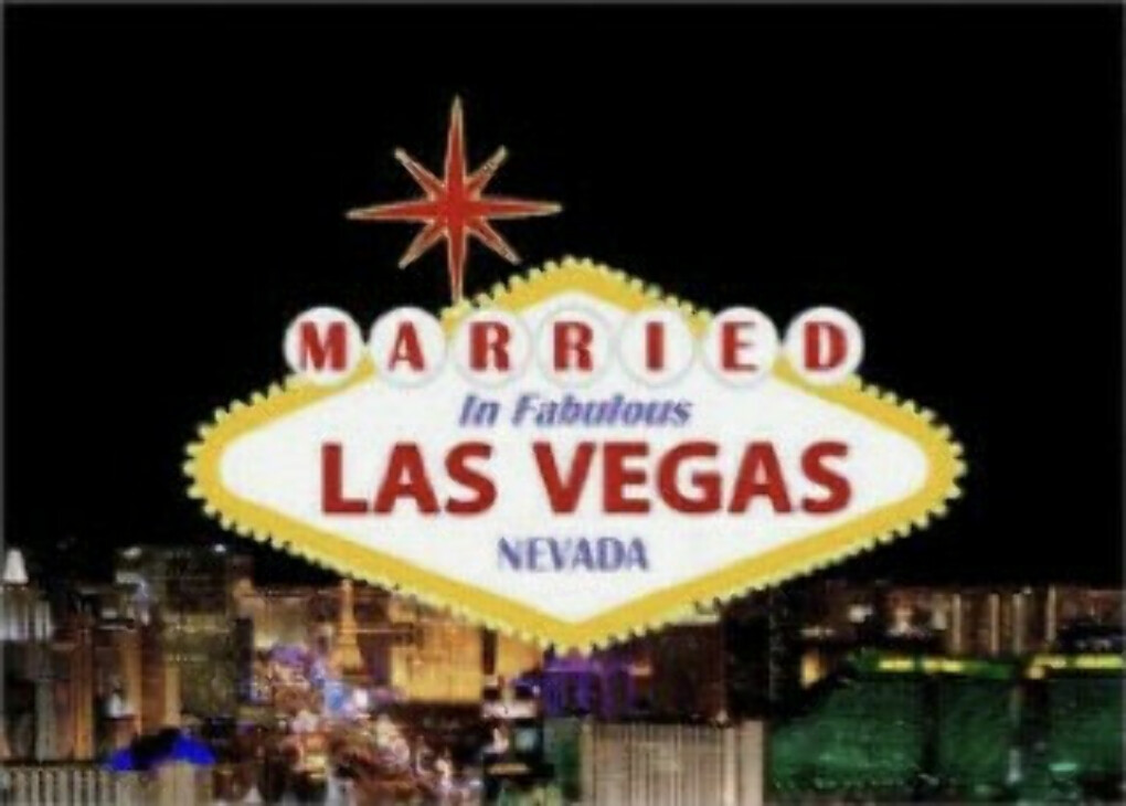 To get married in Las Vegas