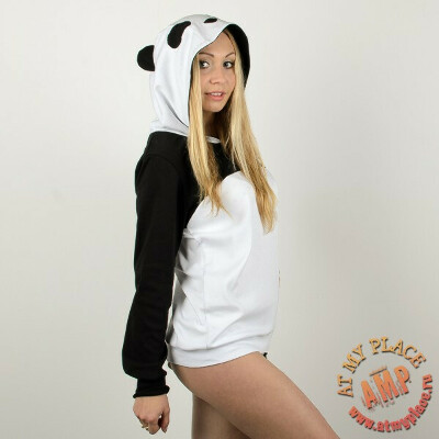 "Толстовка ""Панда"" с ушками - White Box"