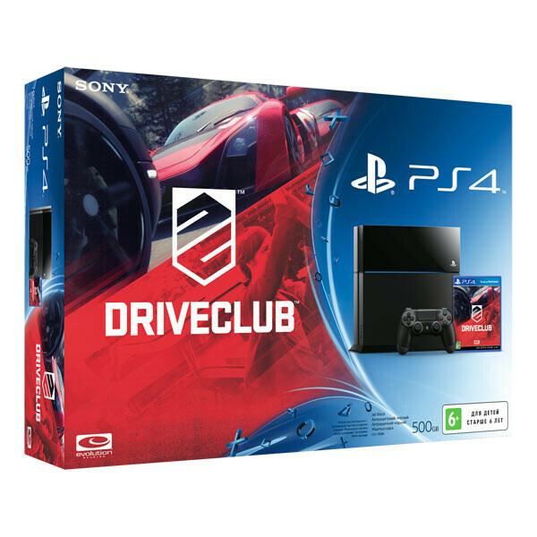 Sony 500GB + Driveclub (CUH-1108A/B01)